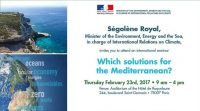 Which solutions for the Mediterranean? | 23 February 2017 | Paris France