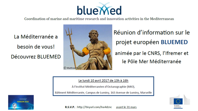 Information meeting on BLUEMED | April 10 | Marseille